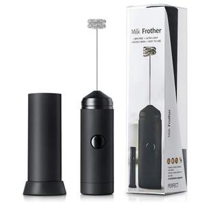 Aço inoxidável New Handheld Batedor de ovo Café Leite Frother Elétrica Mixer pilhas Ferramentas da cozinha portátil Stiring HHA1426