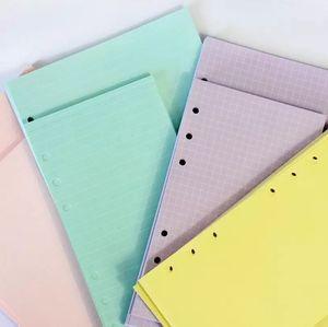 Ноутбуки блокноты Notebook 40 Sheets Kawaii A5 A6 Сыпучие Лист ноутбук Refill Спираль Binder Индекс бумаги Inner Pages Daily Planner