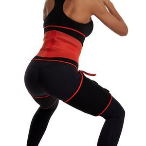 Ceinture Minceur Jambes Shaper soutiers Cuisse chaud Slender Vêtements Accessoires Fitness Fat Wraps Ardentes