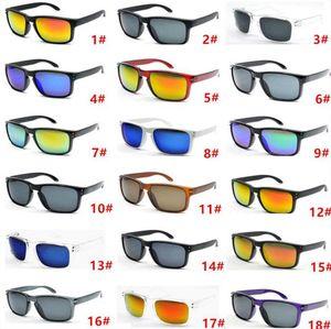 Venda quente 10 pares Designer de óculos de sol para homens verão sombra UV400 proteção esporte óculos de sol homens óculos de sol 18 cores