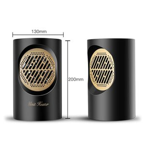 riscaldatore caldi Mini ventilatore di aria calda Touch Screen 220V 400W riscaldatore elettrico Mini portatile Personal Home Spazio Warmer per Indoor Ufficio inverno