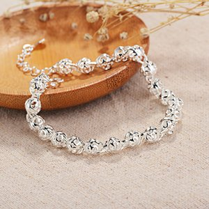 Hollow out Linglong round Ball Bracelets Silver Accessories Low Price Mixed Batch Korean-style Popular Ornament