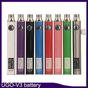 Authentic EcPow UGO-V3 III 배터리 예열 배터리 650mAh 900mAh 510 USB 충전기 VS 510V 스피드 너 II 배터리 3 개 0270001-1