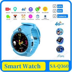 100X Q360 Smart Kids Montre GPS caméra wifi Situation enfant SOS Anti-Perdu moniteur Tracker bébé montre-bracelet