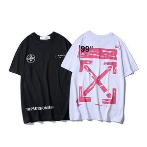 Для мужчин и женщин 2020 мода лето футболка с геометрической тройник Письмо печати круглый вырез футболки с коротким рукавом женский короткий тройник M-XXL q6