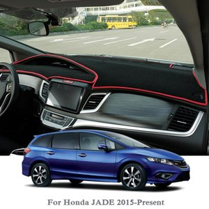 Car Styling Dashboard Avoid Light Pad Instrument Platform Cover Mats Rose For Jade 2015 -Present Rhd &Lhd Anti -Dust Pad