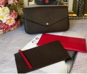 Portefeuille de téléphone portable Portefeuille à trois pièces Sacs femme Sacs Sacs de créateurs pour femmes 2019 Bolsa Feminina Crossbody Designer Sacs à main haute quatrième