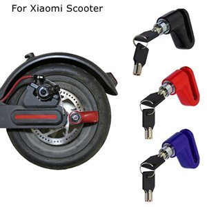 Anti-Roubo Scooter de Bloqueio de Disco de Freio para Xiaomi Mijia M365 Elétrico Inteligente Scooter Motocicleta Mountain bike