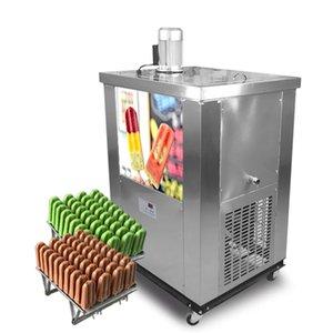 KOLICE 2 Schimmelpilze Eis am Stiel, die Maschine Ei Lutscher Maschine Eislutscher Maschine mit 2 Formensätzen, die bereits in Kältemitteln gefüllt