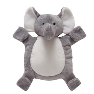 2018 Cute Elephant Doll Baby Soft Plush Toys For Children Elephant Sleeping Mate Stuffed &Plush Animal Baby Toys For Infants