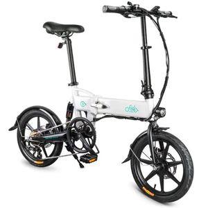 XIAOMIYOUPIN 자전거 FIIDO D2는 / 버전 36V 7.8Ah 250W 16 인치 접이식 오토바이 전기 자전거 25km/h 최대 50KM 전기 자전거를 변속 D2S