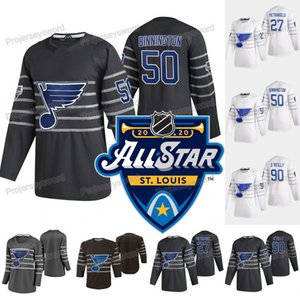 2020 All-Star Binnington Jersey St. Louis Blues Jaden Schwartz Alexander Steen Colton Parayko Jake Allen Vince Dunn Robert Thomas Bozak
