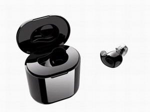 سماعات بلوتوث لاسلكية صغيرة مع باور باند One Key True ستريو Mono Earphones في الأذن سماعة أذن Earbud لفون Samsung LG