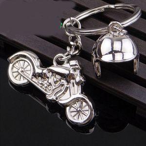 سلسلة دراجة نارية مفتاح الموضة خوذة سلسلة المفاتيح المعدنية حلقة مفاتيح الإبداعية حلقة مفتاح شخصية سلسلة المفاتيح الجدة هدية سلسلة المفاتيح بالجملة DBC VT0397