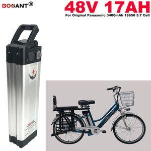 bicicleta 48V 17Ah elétrica Lithium ion Battery Pack 13S bateria de lítio 48V E-bicicleta para Bafang BBSHD 1000W 1200W Motor Frete Grátis