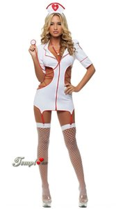 K0c0b European Acting clothingUnderwear clothingsize sexy nurse uniform temptation suit game cosplay role-playing clothing 0257 European Act