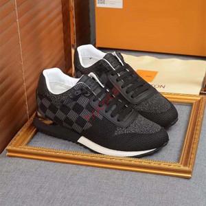 Louis Vuitton Shoes hococal 2017 جديد وصول أحذية الرجال عارضة الأعلى نوعية الرجال أحذية رياضية أحذية الرجال الأزياء الفاخرة جلد الغنم نعل نموذج عارضة القيادة الأحذية