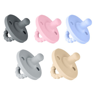 Grade Silicone Newborn Baby Dummy Pacifier Infant Round Nipple Soother Pacifier High Quality Baby Care Product