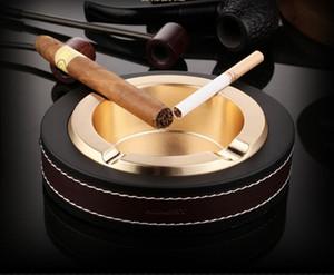 Zigarrenbüro Aschenbecher Haushalt Aschenbecher Metall kreative Mode Persönlichkeit Boutique elliptisch groß Aschenbecher Schenken Handwerk gut Großhandel
