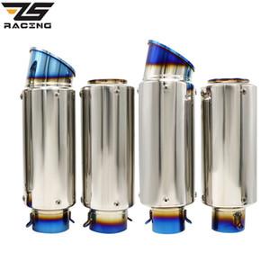 ZS سباق الدراجات النارية العالمي العادم الخمار SC الليزر GP موتوكروس الهروب الانزلاق على ماسورة العادم 50.8mm 60MM الخمار