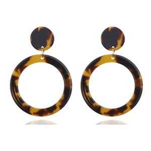 Роскошные серьги с леопардовым дизайном Благородное кольцо с обручем Huggie Dangle Люстра Популярные свадебные банкет Красивые женщины ювелирные изделия