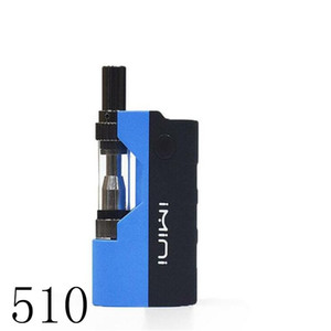 wax oil glass cartridge VV mod 500mah e cigarette battery mod honey oil e cigarette vaporizer bud touch open vape extract oil smoking device