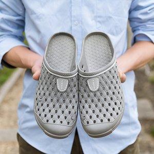 Оригинальные Классические Сабо Садовые Шлепанцы Водная Обувь Мужчины Летний Пляж Аква Тапочки Открытый Плавательный Сандалии Американский Флаг Обувь
