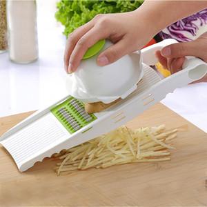 Овощерезка со стальным лезвием мандолина Slicer картофелечистка морковь сыр терка овощерезка кухонные принадлежности