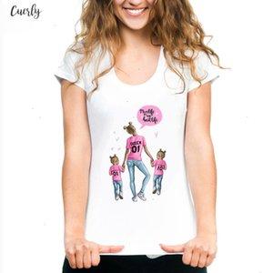Mama T Shirts For Women Mothers Love Print White T Shirt Tee Shirt Femme Cotton Vogue T Shirt Tops Streetwear Clothes