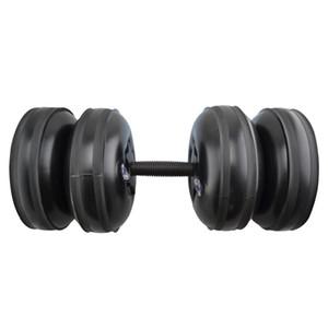 20-25kg Équipement rempli d'eau Haltère Fitness Training Arm Muscle Fitness Haltères réglables d'injection d'eau pratiques pour hommes