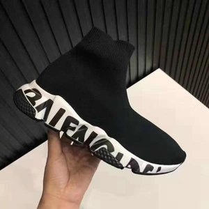 Casual Shoes Speed Trainer Luxury Paris Socks Shoes Men Women heavy sole Fashion Runner Sports Boots Hiking Designer Sneakers 16-6
