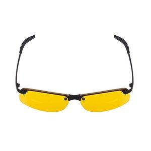 Night Vision Glasses Polarized Anti-Glare Lens Yellow Sunglasses Driving Goggles for Car Night Vision Goggles