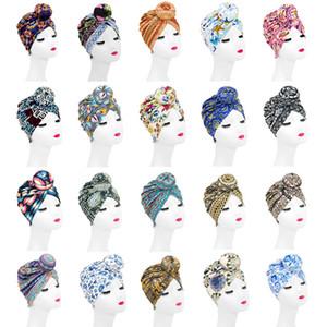 Europe Style Women Knot Large doughnut Ball Caps Headbands Bohemia hair band Girl Headwear Hat Boutique Hair accessories