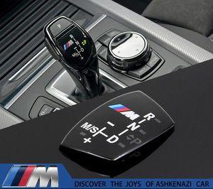 BMW E90 E92 E93 F20 F21 F30 F31 F32 F33 F34 F15 F10 F01 F11 F02 G30 M Performance Gear Shift Lever Cutch Emblema