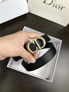 2019 arbeiten Qualität Segeltuch-schwarzer Gürtel Damen Freizeit goldene Gürtel Gut gemachtes Leinwand Männer und Ladies'Belt 2.0cm //// CD