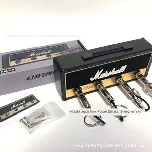 Altavoz de la caja de almacenamiento de la cadena altavoz Pluginz Key Box cadena colgante collar personalizado Guitarra almacenamiento de claves de cabeza colgante creativo Marshall Qrhck