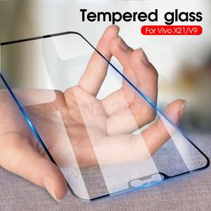 9D pleine colle couverture en verre trempé ViVo Nex2 Screen Protector Téléphone Film Pour ViVo Nex double Y97 Y95 Y93 Y91 Z1 Z3i Y97 X23 V11 pleine colle verre