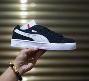 2019 Größe 36-44 Marke Herren und Damen Sneakers Loafers Fashion Designer Herren Damen Low Cut Canvas Casual Flache Schuhe