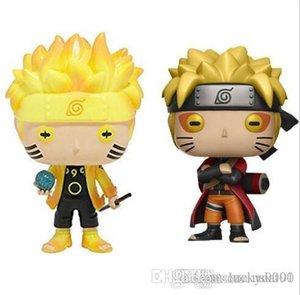 China Sorte Funko Pop Animação: Naruto - Naruto Six Path / Sage Mode Vinyl Action Figure com caixa de presente boneca de brinquedo para crianças