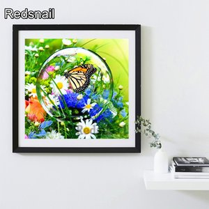 Diamond Painting Butterfly Full Square Diamond Art Animal Cross Stitch Handmade Home Decor 5d Embroidery Sale Gift TT460