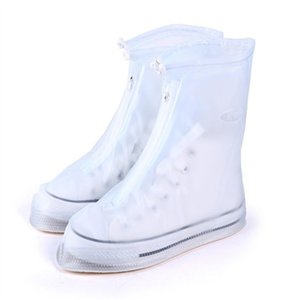 High Quality Men's And Women's Rainproof Waterproof Boots, High Heels, Boots, Reusable Shoe Covers, Thicker, Non-slip, Thick-sol