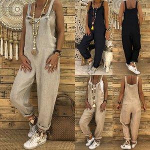Yeni Moda Kadınlar bir adet Romper Casual katı kolsuz askısı Jumpsuit kare yaka Bayanlar giysi