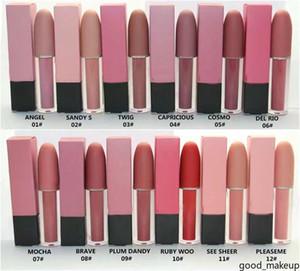 Maquiagem Lipgloss à prova d 'água mate batom lustre lustre labelo batom líquido 12 cores 4,5g frete grátis