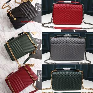 Women Handbags fashion luxury tote bag Luxury shoulder purses crossbody bag Leather Metal chain designer handbags