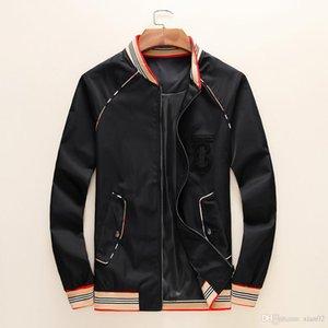 Brand designer 2019 fashion luxury trend men's jacket jacket zipper sweater sports windbreaker jacket -10