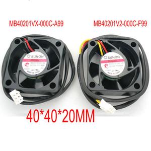 MB40201V2-000C-F99 0.6W MB40201VX-000C-A99 4020 12v 1.38w ventilador de refrigeración 40 * 40 * 20mm