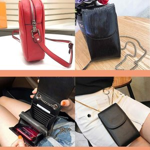 Designer purse Credit Card Holder Full range of leather luxury wallet mobile phone bag water ripple new diagonal cross bag top leather