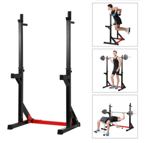 Semi-frame Squat Rack Multifunctional Weight-lifting Bed Professional Horizontal Pusher Combination of Household Barbell Frame