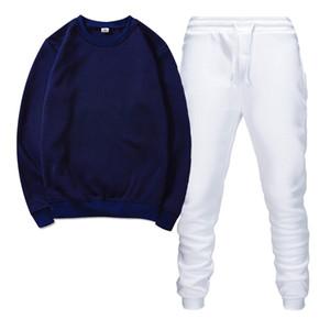Haute Qualité Hommes Tracksuits pour hommes Sportswear Men's Jogging Costumes Sweats à capuche Spring Automne Automne Casual Sportswear Sets Vêtements Out