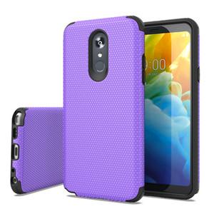 For LG STYLO 5 K40 K12 Plus X4 2019 Motorola G7 SPUAR POWER E5 PLUS SPURA X5 Football Pattern 2 In 1 Design Protector Phone Case Cover